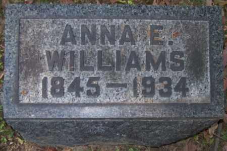 WRIGHT WILLIAMS, ANNA E. - Stark County, Ohio | ANNA E. WRIGHT WILLIAMS - Ohio Gravestone Photos
