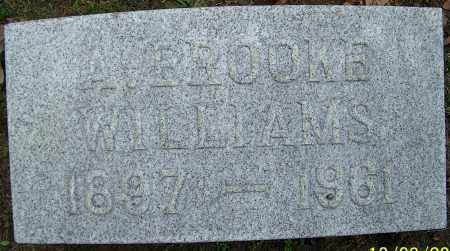 WILLIAMS, A.BROOKE - Stark County, Ohio | A.BROOKE WILLIAMS - Ohio Gravestone Photos