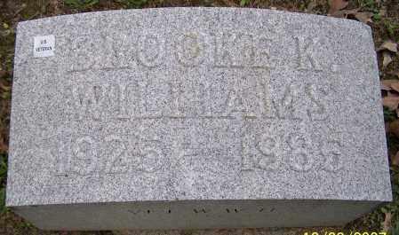 WILLIAMS, BROOKE K. - Stark County, Ohio   BROOKE K. WILLIAMS - Ohio Gravestone Photos