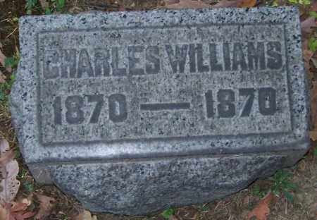 WILLIAMS, CHARLES - Stark County, Ohio | CHARLES WILLIAMS - Ohio Gravestone Photos