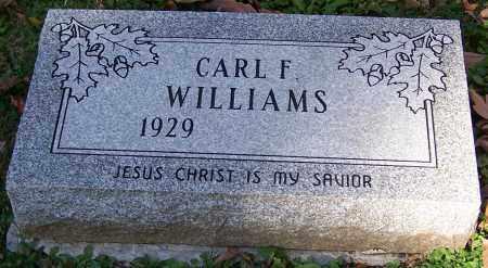 WILLIAMS, CARL F. - Stark County, Ohio   CARL F. WILLIAMS - Ohio Gravestone Photos