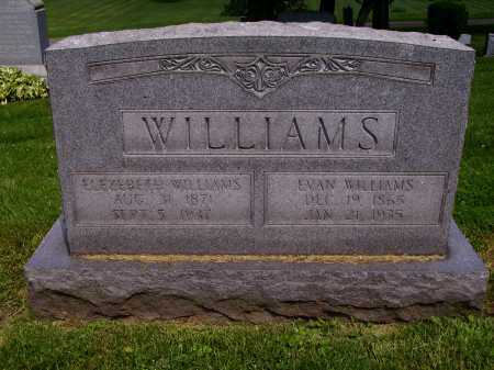 WILLIAMS, EVANS - Stark County, Ohio | EVANS WILLIAMS - Ohio Gravestone Photos