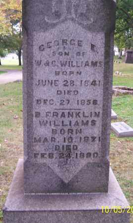 WILLIAMS, GEORGE E. - Stark County, Ohio | GEORGE E. WILLIAMS - Ohio Gravestone Photos