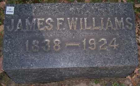 WILLIAMS, JAMES F. - Stark County, Ohio   JAMES F. WILLIAMS - Ohio Gravestone Photos