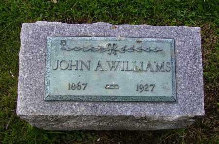 WILLIAMS, JOHN A. - Stark County, Ohio   JOHN A. WILLIAMS - Ohio Gravestone Photos