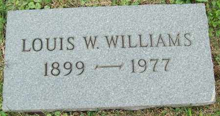 WILLIAMS, LOUIS W. - Stark County, Ohio | LOUIS W. WILLIAMS - Ohio Gravestone Photos