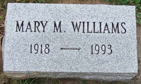 WILLIAMS, MARY M. - Stark County, Ohio | MARY M. WILLIAMS - Ohio Gravestone Photos