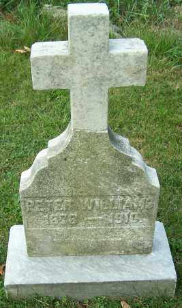WILLIAMS, PETER - Stark County, Ohio | PETER WILLIAMS - Ohio Gravestone Photos