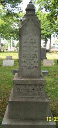WILLIAMS, CAROLINE - Stark County, Ohio | CAROLINE WILLIAMS - Ohio Gravestone Photos