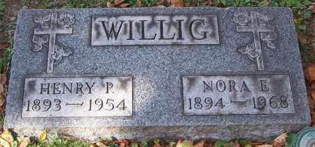 WILLIG, NORA E. - Stark County, Ohio | NORA E. WILLIG - Ohio Gravestone Photos