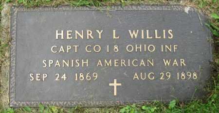 WILLIS, HENRY L. - Stark County, Ohio | HENRY L. WILLIS - Ohio Gravestone Photos