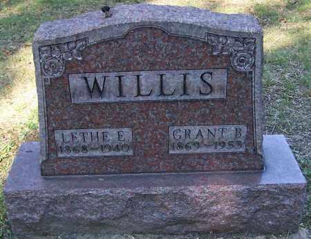 WILLIS, GRANT B. - Stark County, Ohio | GRANT B. WILLIS - Ohio Gravestone Photos