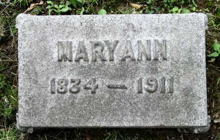 WILLIS, MARY ANN - Stark County, Ohio | MARY ANN WILLIS - Ohio Gravestone Photos