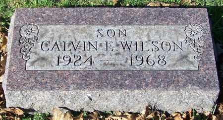 WILSON, CALVIN E. - Stark County, Ohio   CALVIN E. WILSON - Ohio Gravestone Photos