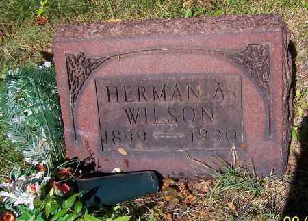 WILSON, HERMAN A. - Stark County, Ohio | HERMAN A. WILSON - Ohio Gravestone Photos