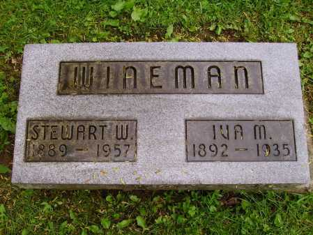 WINEMAN, IVA MARIE - Stark County, Ohio | IVA MARIE WINEMAN - Ohio Gravestone Photos
