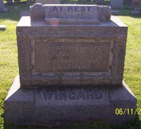 WINGARD, SUSANNA - Stark County, Ohio | SUSANNA WINGARD - Ohio Gravestone Photos