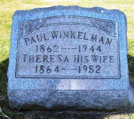 WINKELMAN, PAUL - Stark County, Ohio | PAUL WINKELMAN - Ohio Gravestone Photos