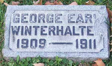 WINTERHALTER, GEORGE EARL - Stark County, Ohio   GEORGE EARL WINTERHALTER - Ohio Gravestone Photos