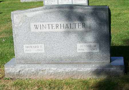 WINTERHALTER, JENNIE M. - Stark County, Ohio | JENNIE M. WINTERHALTER - Ohio Gravestone Photos