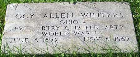 WINTERS, OCY ALLEN - Stark County, Ohio | OCY ALLEN WINTERS - Ohio Gravestone Photos