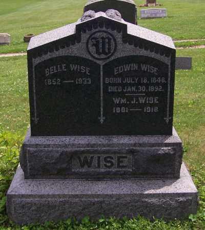 WISE, BELLIE - Stark County, Ohio | BELLIE WISE - Ohio Gravestone Photos