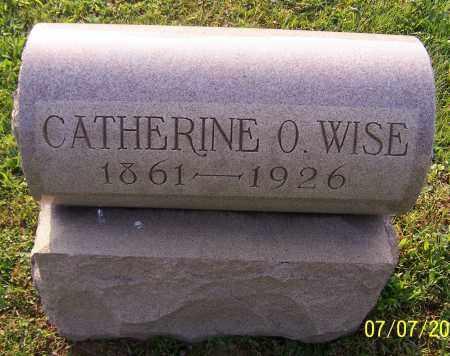 WISE, CATHERINE O. - Stark County, Ohio   CATHERINE O. WISE - Ohio Gravestone Photos
