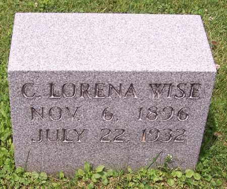 WISE, C. LORENA - Stark County, Ohio   C. LORENA WISE - Ohio Gravestone Photos