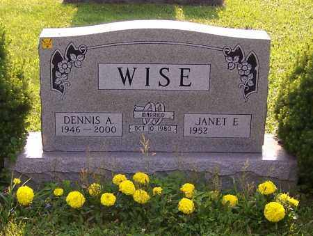 WISE, DENNIS A. - Stark County, Ohio | DENNIS A. WISE - Ohio Gravestone Photos