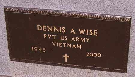 WISE, DENNIS A.  (MIL) - Stark County, Ohio | DENNIS A.  (MIL) WISE - Ohio Gravestone Photos
