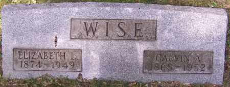 WISE, CALVIN A. - Stark County, Ohio | CALVIN A. WISE - Ohio Gravestone Photos