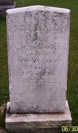 WISE, FRANKLIN C. - Stark County, Ohio | FRANKLIN C. WISE - Ohio Gravestone Photos
