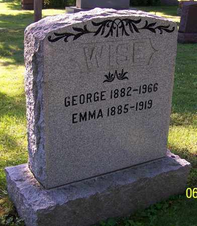 WISE, EMMA - Stark County, Ohio | EMMA WISE - Ohio Gravestone Photos