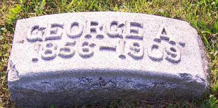 WISE, GEORGE A. - Stark County, Ohio   GEORGE A. WISE - Ohio Gravestone Photos