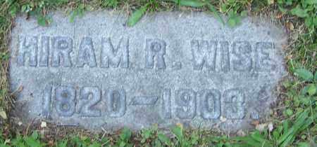 WISE, HIRAM R. - Stark County, Ohio | HIRAM R. WISE - Ohio Gravestone Photos