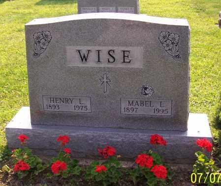 WISE, MABEL L. - Stark County, Ohio | MABEL L. WISE - Ohio Gravestone Photos
