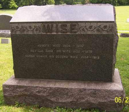 WISE, JOSEPH - Stark County, Ohio | JOSEPH WISE - Ohio Gravestone Photos