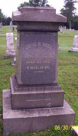 WISE, JOHN H. - Stark County, Ohio | JOHN H. WISE - Ohio Gravestone Photos