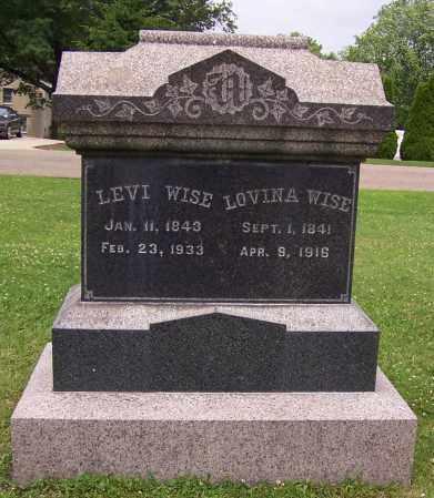 WISE, LEVI - Stark County, Ohio | LEVI WISE - Ohio Gravestone Photos