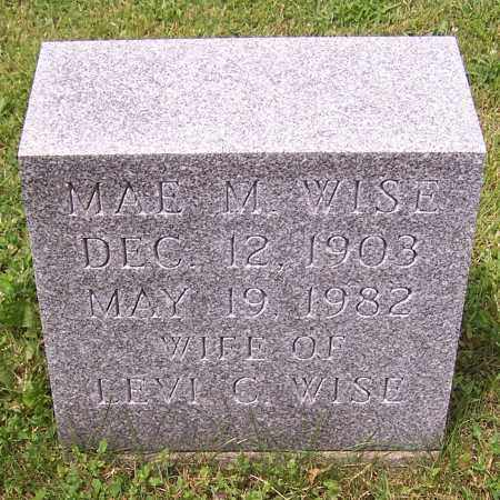 WISE, MAE M. - Stark County, Ohio | MAE M. WISE - Ohio Gravestone Photos