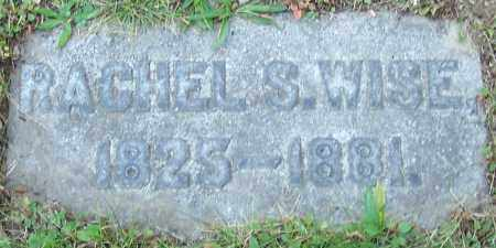 WISE, RACHEL S. - Stark County, Ohio   RACHEL S. WISE - Ohio Gravestone Photos