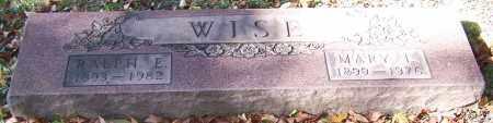 WISE, MARY L. - Stark County, Ohio   MARY L. WISE - Ohio Gravestone Photos