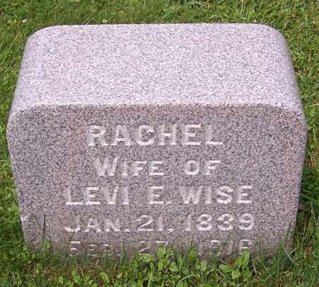 WISE, RACHEL - Stark County, Ohio   RACHEL WISE - Ohio Gravestone Photos
