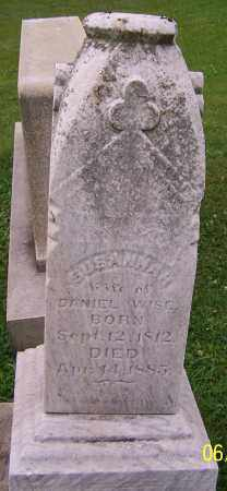 WISE, SUSANNAH - Stark County, Ohio   SUSANNAH WISE - Ohio Gravestone Photos