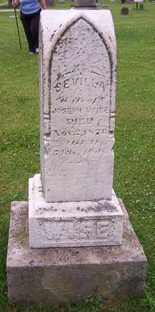 WISE, SEVILLA - Stark County, Ohio | SEVILLA WISE - Ohio Gravestone Photos