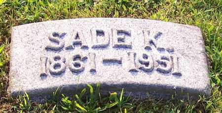 WISE, SADE K. - Stark County, Ohio | SADE K. WISE - Ohio Gravestone Photos