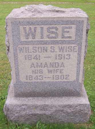 WISE, AMANDA - Stark County, Ohio | AMANDA WISE - Ohio Gravestone Photos