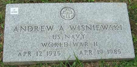 WISNIEWSKI, ANDREW A. - Stark County, Ohio   ANDREW A. WISNIEWSKI - Ohio Gravestone Photos