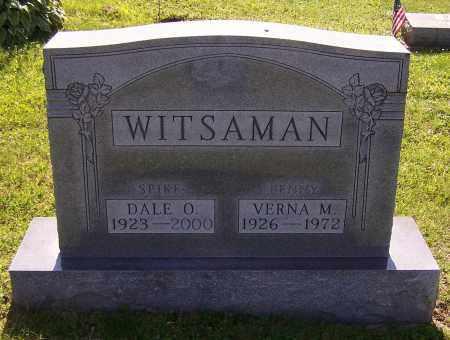 WITSAMAN, VERNA M. - Stark County, Ohio | VERNA M. WITSAMAN - Ohio Gravestone Photos
