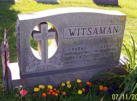 WITSAMAN, GENE - Stark County, Ohio | GENE WITSAMAN - Ohio Gravestone Photos